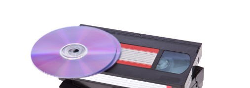Video tapes with a DVD