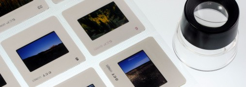 35mm slide transfers