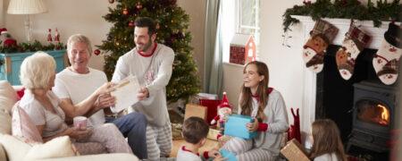 Family Celebrating Meaningful Moments